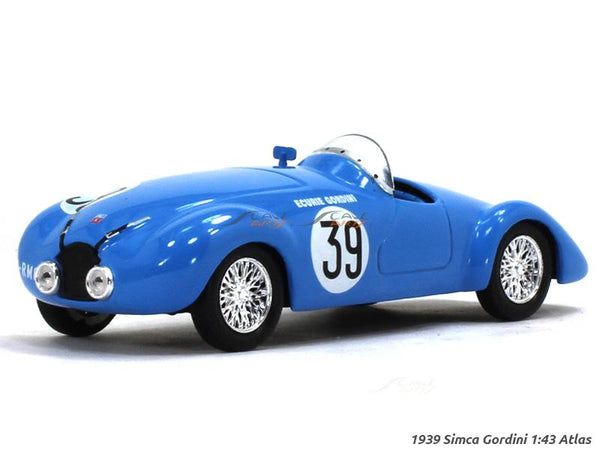 1939 Simca Gordini 1:43 Atlas diecast Scale Model Car