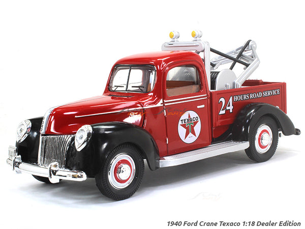 1940 Ford Crane Texaco 1:18 Dealer Edition diecast Scale Model car