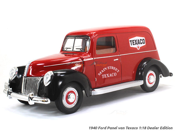 1940 Ford Panel van Texaco 1:18 Dealer Edition diecast Scale Model car