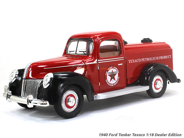1940 Ford Tanker Texaco 1:18 Dealer Edition diecast Scale Model car