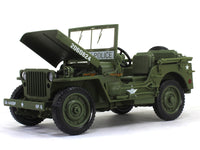 1941 Jeep Willys US Army 1:18 Auto World diecast scale model car