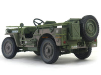1941 Jeep Willys US Army mud 1:18 Auto World diecast scale model car