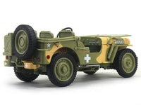 1941 Jeep Willys US Army camouflage 1:18 Auto World diecast scale model car