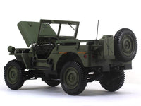 1942 Willys Jeep 1:18 Norev diecast scale model car