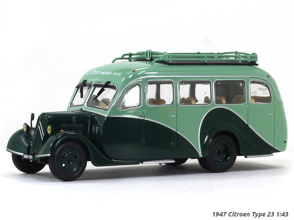 1947 Citroen Type 23 1:43 diecast Scale Model Bus