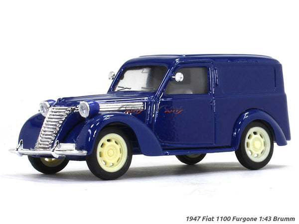 1947 Fiat 1100 Furgone 1:43 Brumm diecast Scale Model Car