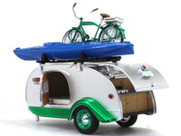 1947 Ken-Skill tear drop camper 1:24 Greenlight  diecast scale model camper