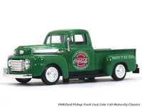 1948 Ford Pickup Truck Coca Cola 1:43 Motorcity Classics diecast Scale Model Car