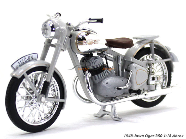 1948 Jawa Ogar 350 1:18 Abrex diecast Scale Model Bike