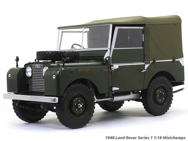 1948 Land Rover Series 1 1:18 Minichamps diecast scale model car