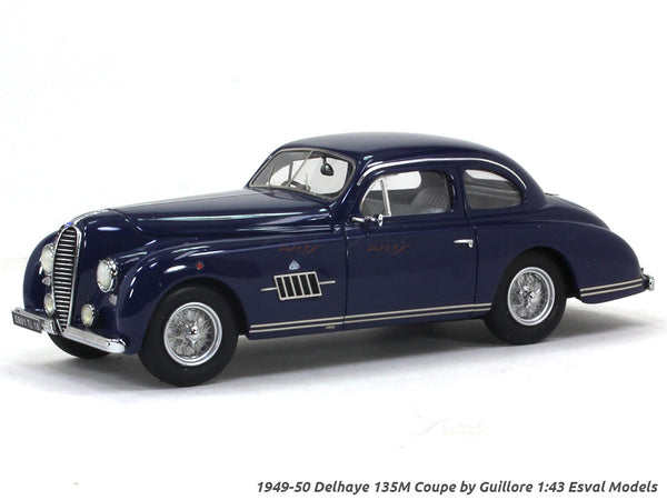 1949-50 Delhaye 135M Coupe by Guillore 1:43 Esval models scale model car