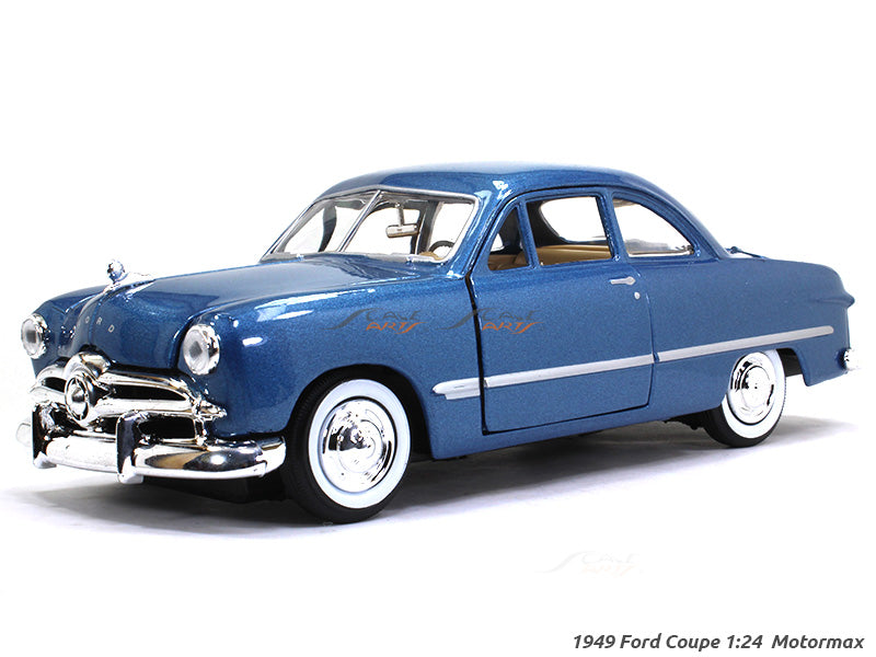 1949 Ford Coupe 1:24 Motormax diecast scale model car