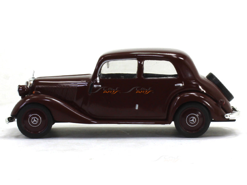 1949 Mercedes Benz 170v W136 1 43 Diecast Scale Model Car Scale Arts India