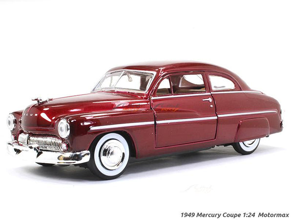 1949 Mercury Coupe 1:24 Motormax diecast scale model car