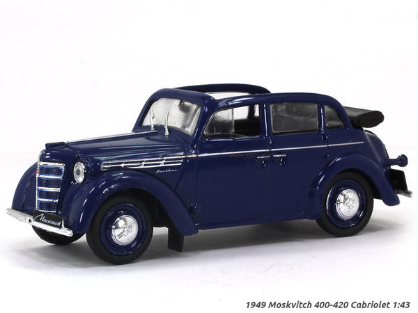 1949 Moskvitch 400-420 Cabriolet 1:43 diecast scale model car