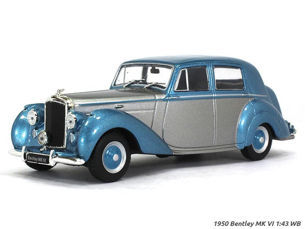 1950 Bentley MK VI 1:43 Whitebox diecast Scale Model Car