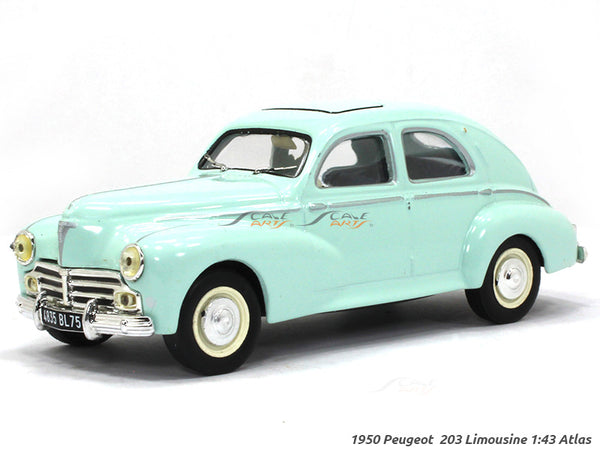 1950 Peugeot 203 Limousine 1:43 Atlas diecast scale model car