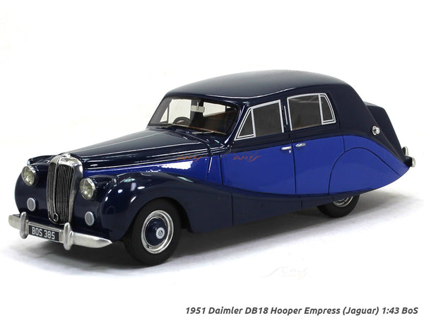 1951 Daimler DB18 Hooper Empress (Jaguar) 1:43 BoS Scale Model Car