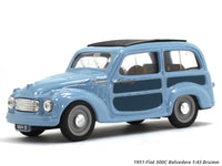 1951 Fiat 500C Belvedere 1:43 Brumm diecast Scale Model Car