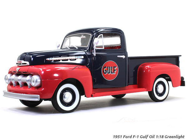 1951 Ford F-1 Gulf Oil 1:18 Greenlight diecast scale model car