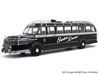 1951 Krupp SW 080 Titan 1:43 Atlas diecast Scale Model Bus