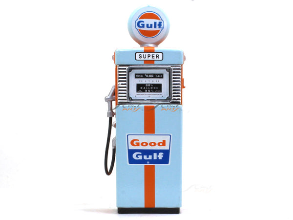 1951 Gulf Gas Pump 1:18 Greenlight diecast Scale Model car