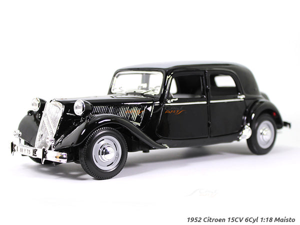 1952 Citroen 15CV 6 Cyl 1:18 Maisto diecast Scale Model car