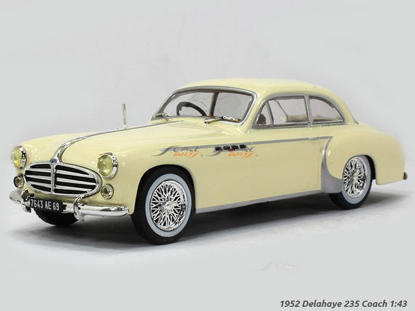 1952 Delahaye 235 Coach 1:43 diecast Scale Model Car