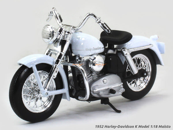 1952 Harley-Davidson K Model 1:18 Maisto diecast scale model bike