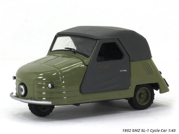 1952 SMZ SL-1 Cycle Car 1:43 diecast scale model car