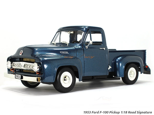 1953 Ford F-100 Pickup Dark 1:18 Road Signature Yatming diecast scale model car
