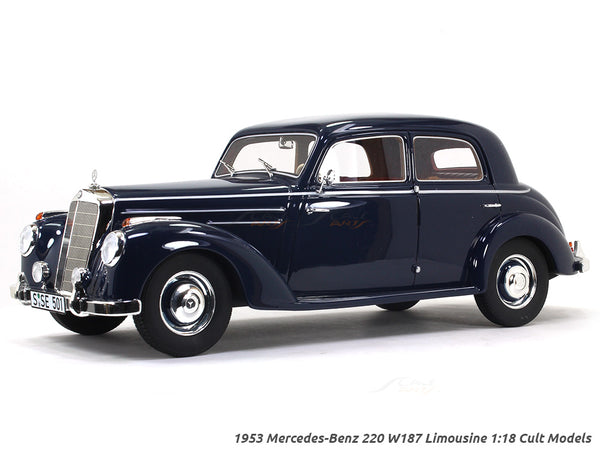 1953 Mercedes-Benz 220 W187 Limousine 1:18 Cult Scale model car