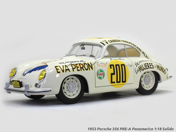 1953 Porsche 356 PRE-A Panamerica 1:18 Solido diecast Scale Model Car