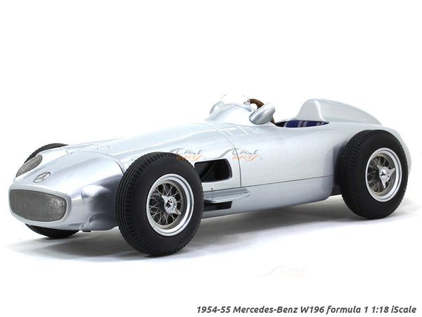 1955 Mercedes-Benz W196 Formula 1 1:18 iScale scale model car