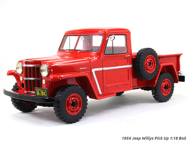 1954 Jeep Willys Pick Up 1:18 BoS scale model