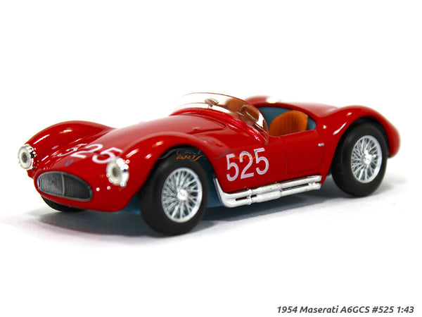 1954 Maserati A6GCS 525 1:43 diecast Scale Model Car