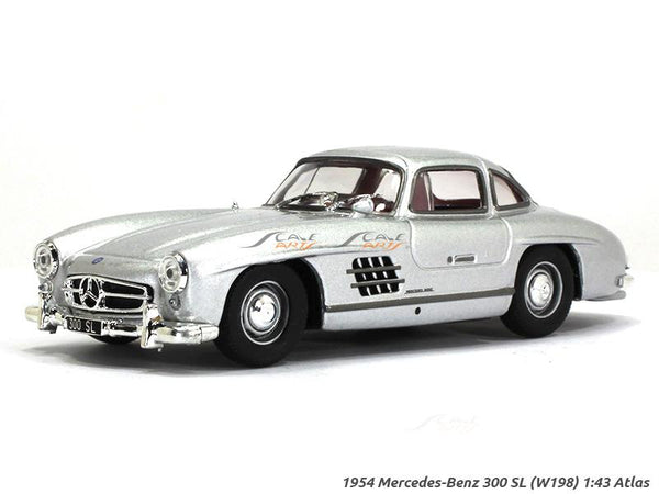 1954 Mercedes-Benz 300SL W198 Gullwing 1:43 diecast Scale Model Car