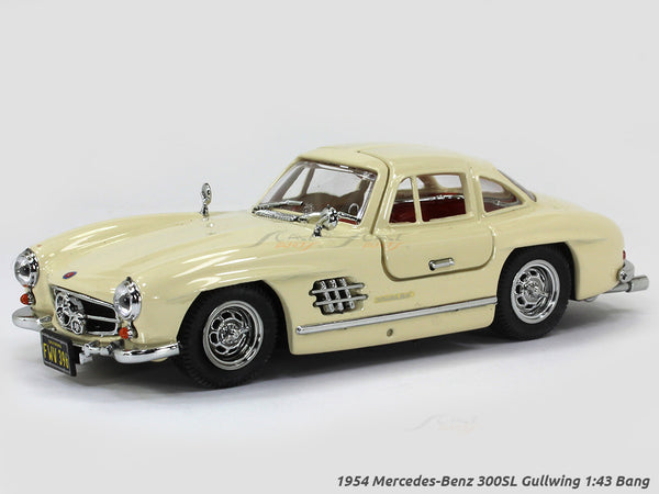 1954 Mercedes-Benz 300SL Gullwing 1:43 Bang diecast scale model