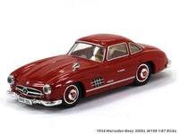1954 Mercedes-Benz 300SL W198 1:87 Ricko HO Scale Model car