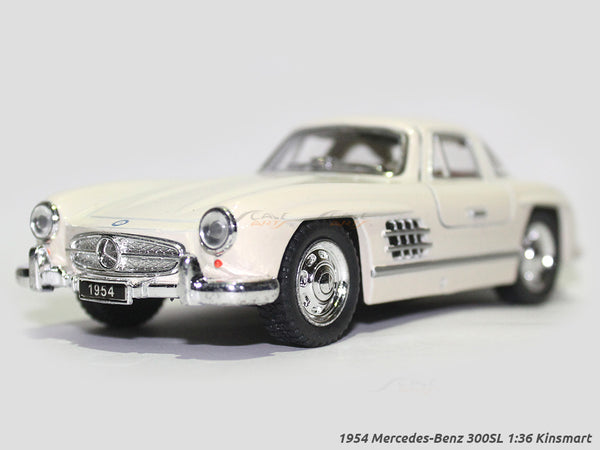 1954 Mercedes-Benz 300SL beige 1:36 Kinsmart diecast scale model Car