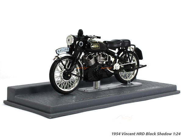1954 Vincent HRD Black Shadow 1:24 Atlas diecast Scale Model Bike