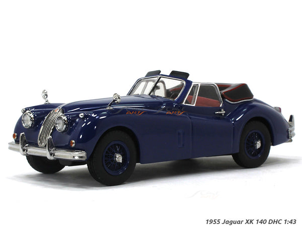 1955 Jaguar XK 140 DHC 1:43 Liechtenstein diecast Scale Model car