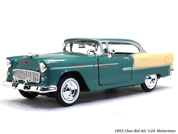 1955 Chevy Bel Air 1:24 Motormax diecast scale model car