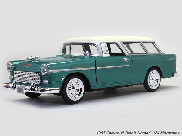 1955 Chevrolet Belair Nomad 1:24 Motormax diecast scale model car