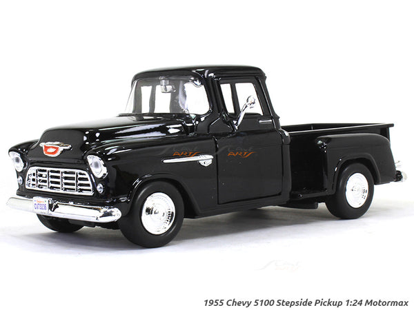1955 Chevy 5100 Stepside Pickup 1:24 Motormax diecast scale model car