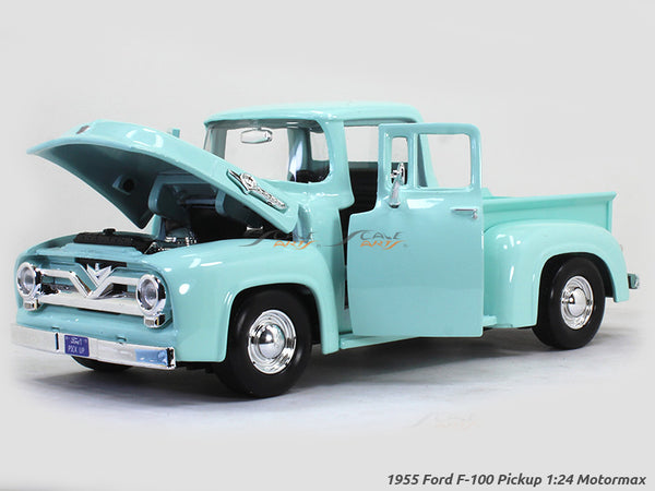 1955 Ford F-100 Pickup 1:24 Motormax diecast scale model car