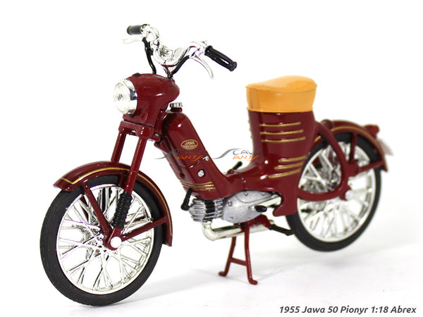 1955 Jawa 50 Pionyr 1:18 Abrex diecast Scale Model Bike