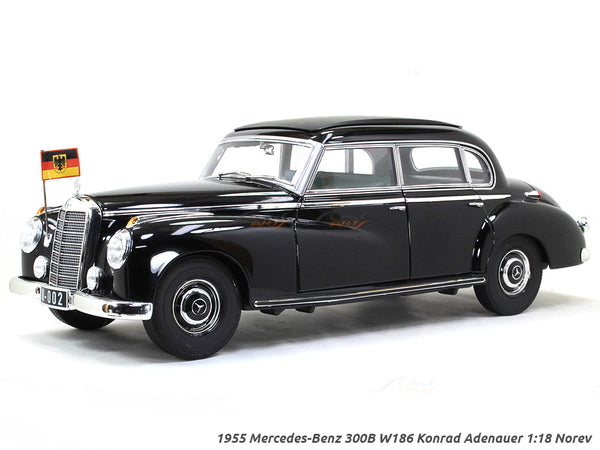 1955 Mercedes-Benz 300B W186 Konrad Adenauer 1:18 Norev diecast scale model car