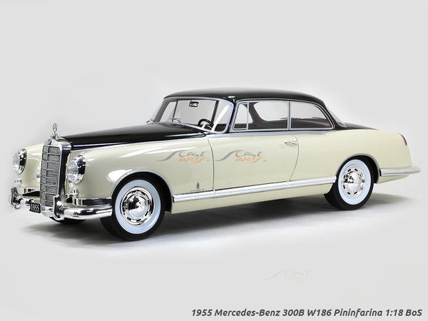 1955 Mercedes-Benz 300B W186 Pininfarina 1:18 BoS scale model car