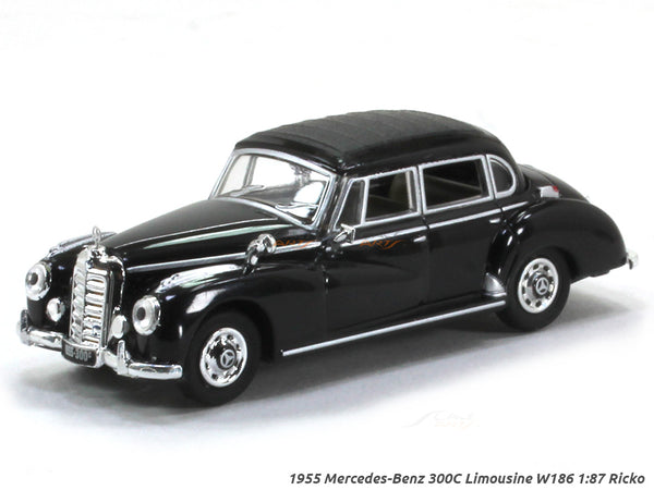 1955 Mercedes-Benz 300C W186 Limousine 1:87 Ricko HO Scale Model car